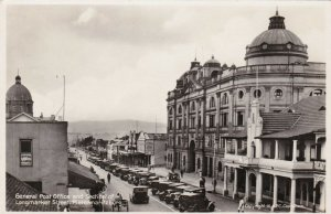 South Africa Petermaritzburg Longmarket Street Post Office Real Photo sk1793a