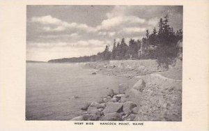 Maine Hancock Point West Side Albertype