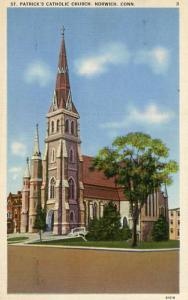 CT - Norwich, St. Patrick's Catholic Church