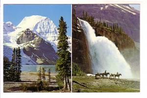 Twoview, Mount Robson and Emperor Falls, Horseback Riders Alberta,