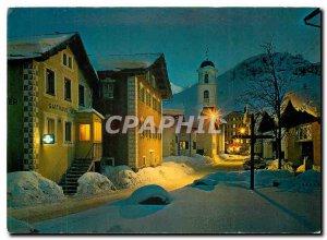 Postcard Modern Bivio am Julierpass