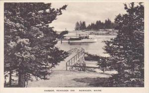 Maine Newagin Harbor Newagen Inn Albertype