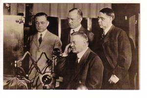 Herbert Hoover, Public Demonstration of Television, Presidential Library, Iowa