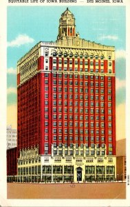 Iowa Des Moines Equitable Life Of Iowa Building 1948 Curteich