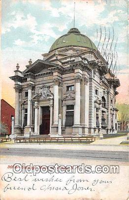 Savings Bank of Utica Utica, NY, USA Postcard Post Card Utica, NY, USA Postca...