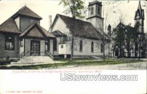 Episcopal and Presbyterian Churches Greenville MI Unused