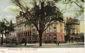 SAVANNAH , Georgia, 1900-10s ; De Soto hotel