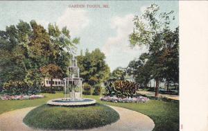 Garden , TOGUS , Maine , pre-1907