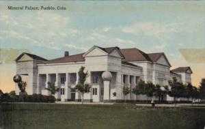 Colorado Pueblo The Mineral Palace Curteich
