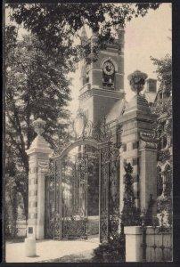 College Hall and the Grecourt Gates,Smith College,Northampton,MA