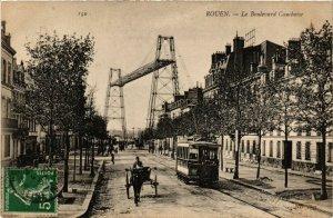 CPA ROUEN-Le Boulevard Cauchoise (348770)