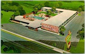 Kansas City, Missouri Postcard HOLIDAY INN South / Artist's View c1960s Unused