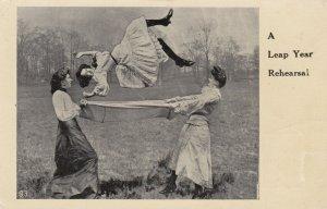 LEAP YEAR 1908 ; Rehearsal