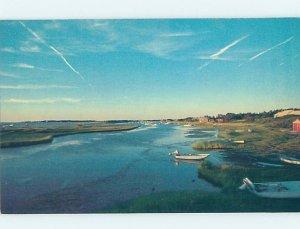 Pre-1980 NATURE SCENE Cape Cod - Nantucket Massachusetts MA AD3391