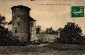 CPA Sandrans Le Vieux Chateau Féodal (684679)