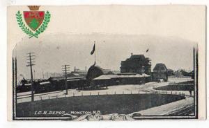I.C.R. Depot, Mongton NB