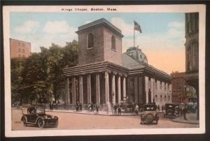 Kings Chapel, Boston, Mass. M. Abrams 12912