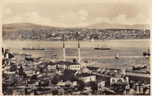 Constantinople Turkey Bosphore Scenic View Real Photo Antique Postcard J78904