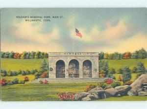 Linen PARK SCENE Willimantic In Windham - Near Hartfield Connecticut CT H3077
