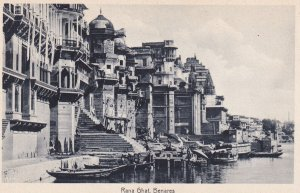 BENARES, India, 1930-1950s; Rana Ghat