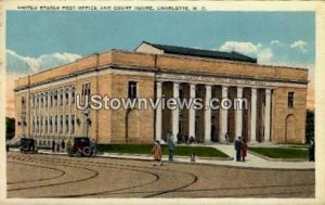 U.S. Post Office and Court House in Charlotte, North Carolina