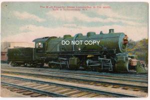 Steam Locomotive, Schenectady NY
