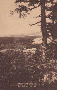 GREENVILLE JCT., Maine, PU-1945; Squaw Mountain Inn, Moosehead Lake