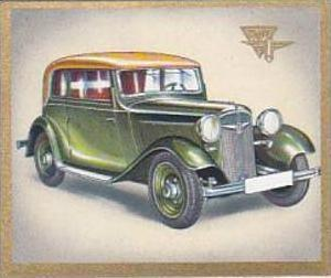 Garbaty Cigarette Card Cars Of Today No 59 Adler Primus 4 Seat Cabriolet