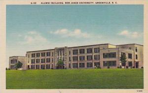 Alumni Building, Bob Jones University, Greenville, South Carolina, 30-40s