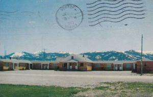 Exterior,Timberline Motel, Victor, Idaho, PU-1963