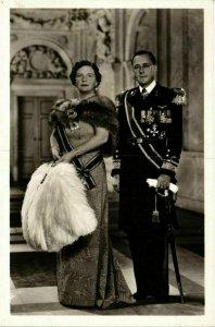 CPA AK H.M.Koningin Juliana en Prins Bernhard DUTCH ROYALTY (746713)