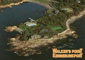 ME - Kennebunkport. Walker's Point (Residence of Pres. George H. W. & Barbara...