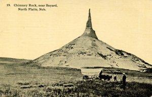 Ezra Meeker - Chimney Rock