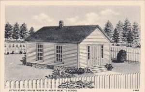 Little School House Where O Henry Went To School Greensboro North Carolina