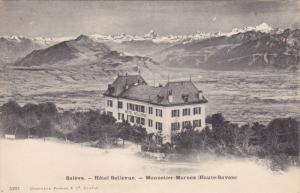 SALEVE, France, 1900-1910's; Hotel Bellevue, Monnetier-Mornex (Haute-Savoie)