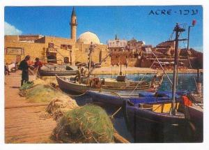 Waterfront, Fishing Boats, ACRE, Israel, 50-60s