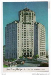 California San Francisco - Hotel Mark Hopkins - 50s