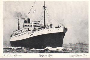 French Line - S.S. de Grasse