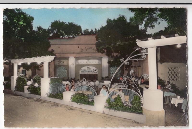 Burkina Faso; Bobo Dioulasso, La Potiniere Bar, Hotel, Restaurant PPC, Unposted