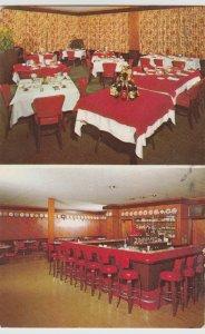 PLEASANTVILLE, NJ  SHERRYS MOTOR LODGE  restaurant bar Postcard cenntenial stamp