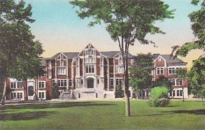 Indiana Muncie Arts Building Ball State Teachers College Handcolored Albertype