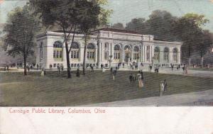 COLUMBUS, Ohio , PU-1909 ; Carnegie Public Library