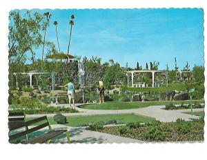 Sun City Miniature Golf Course Active Retirement Arizona 4 by 6 card
