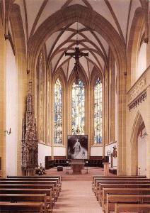 Kitzingen am Main Innenansicht Pfarrkirche St. Johannes Church Interior Eglise