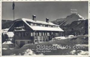 Les Pacots Chantel St Denis Foyer De Corbettaz, Real photo Ski, Skiing Postca...