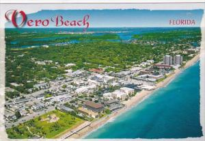 Florida Vero Beach Aerial View 2001