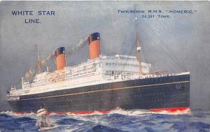 R.M.S. Homeric  White Star Line
