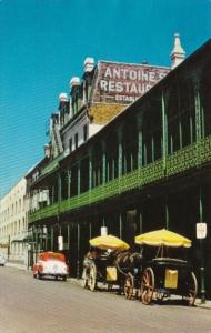 Louisiana New Orleans Antoine's Restaurant