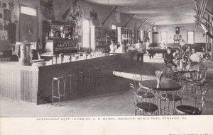Pennsylvania Perkasie Menlo Park Casino Restaurant Interior Berkemeyer Pc sk1723