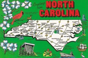 North Carolina Charlotte Tar Hell State Old North State